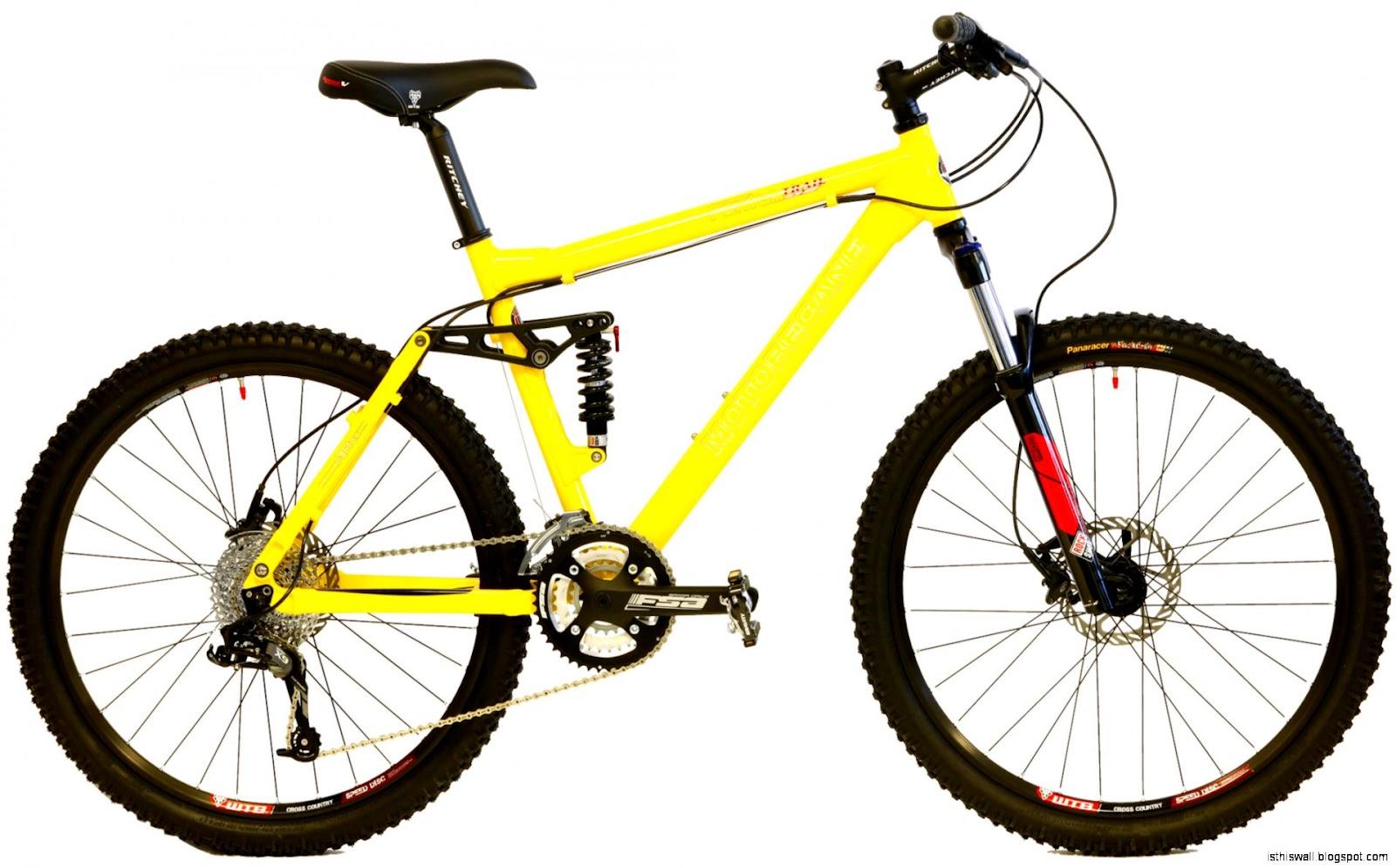 Yellow Trek Mountain Bike