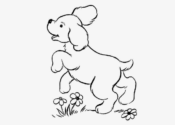 cute dog coloring page free coloring pages and coloring