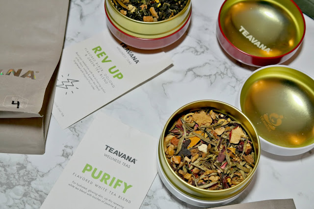 Wellness Teas from Teavana