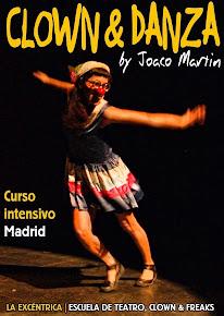 Curso intensivo > CLOWN & DANZA / Todos los niveles > Próx. consultar