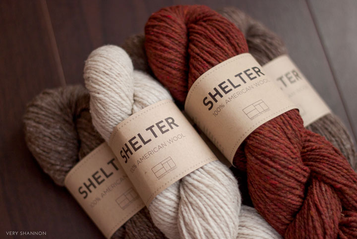 Shelter Yarn from Brooklyn Tweed on VeryShannon.com #sskal14