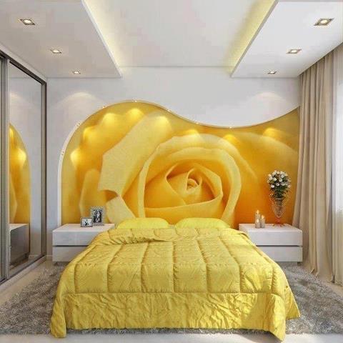 Decorazioni d 39 interni personalizzate pitture e colori pareti - Pitture per camere da letto ...