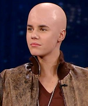 Foto Justin Bieber Botak Gundul Plontos - The Facemash Post