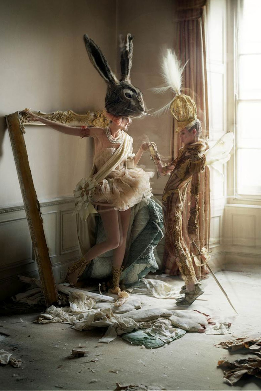 T-Shirt and Tails: Tim Walker Story Teller Exhibition Preview