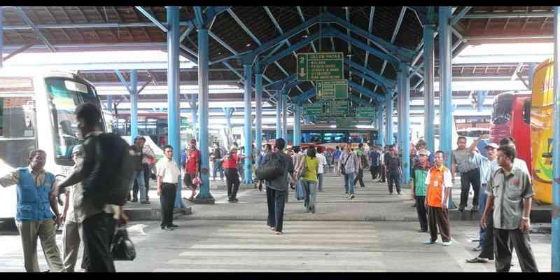 Terminal Bus Bungurasih Surabaya - Trayek Angkot Surabaya
