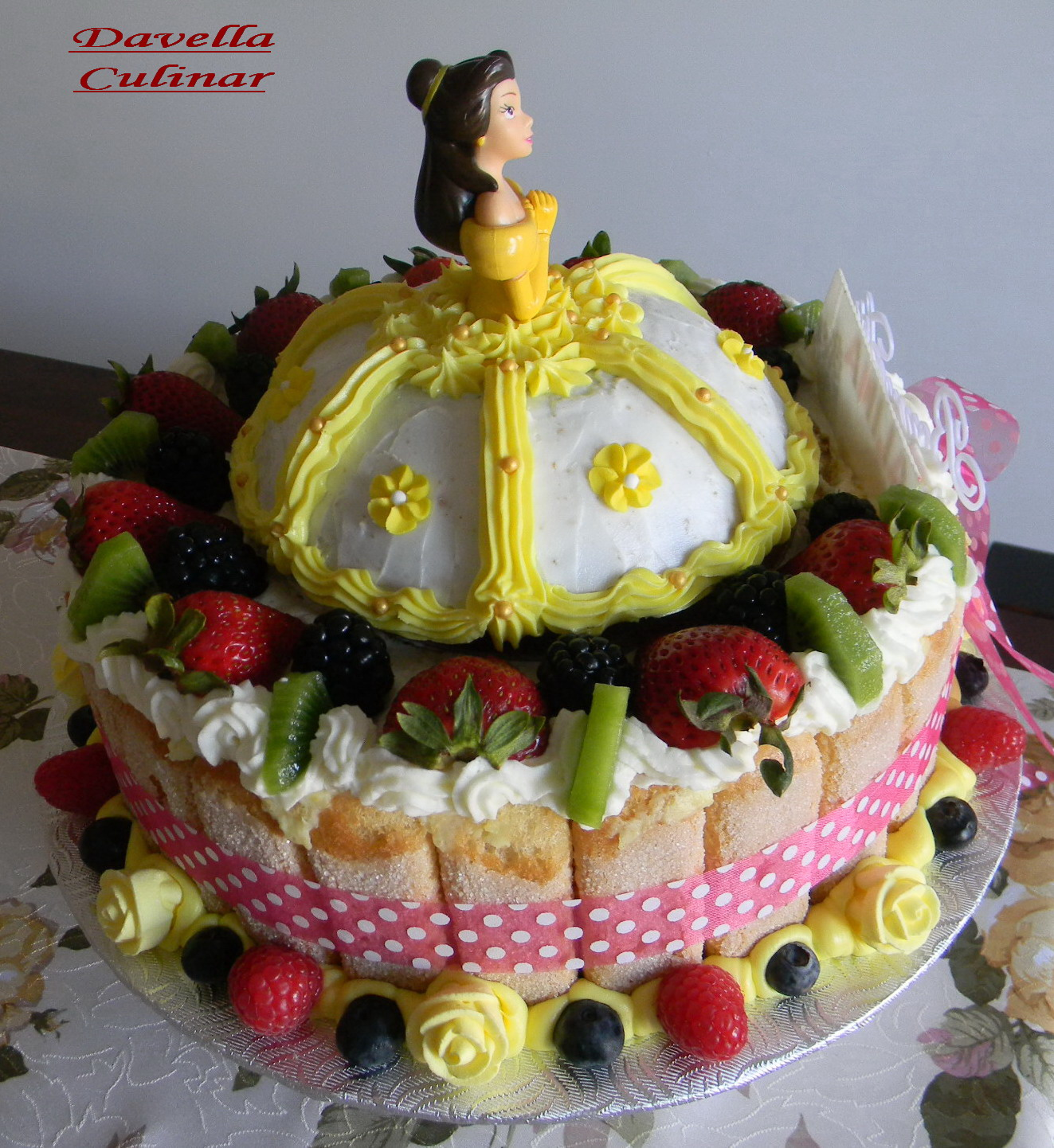 Davella culinar g teau la belle princesse alina tort printesa frumoasa alina - La belle princesse ...