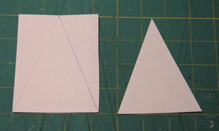 Как сделать треугольниками вшопе