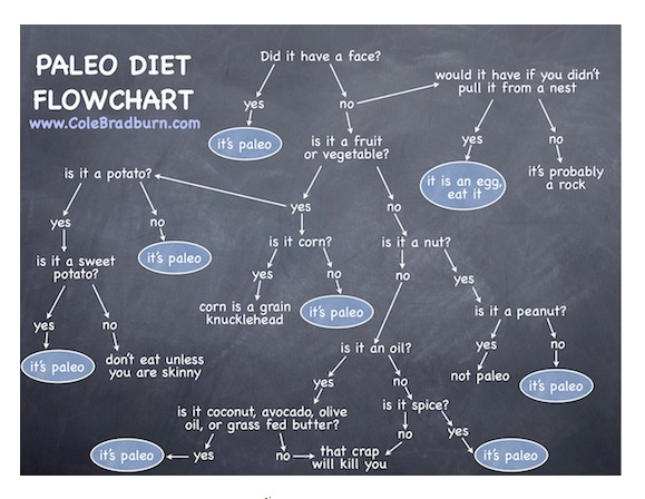 545 The Paleo Diet Flowchart By Cole Bradburn Everything About