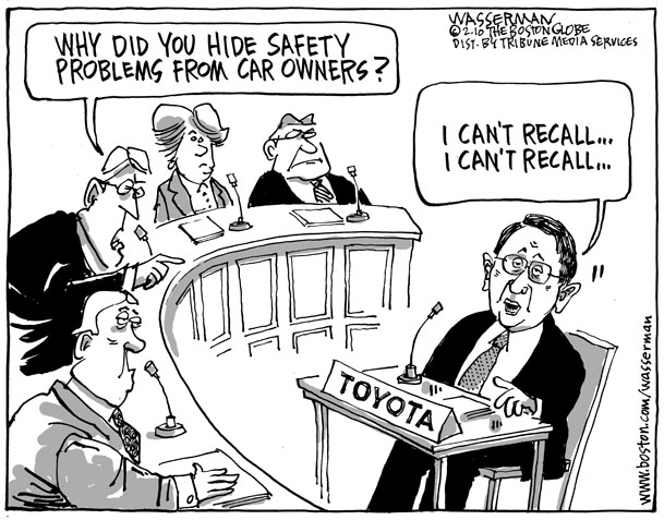 toyota crisis Solution preview what has toyota done right in handling the crisis i find that toyota did the right thing by acknowledging that there was a serious problem that would place consumers in a dangerous position.
