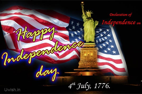 Happy independence day with statue of liberty and us flag on 4th images pictures of happy independence day usa e greetings and wishes with statue of liberty and us flag on 4th july 1776 m4hsunfo Image collections