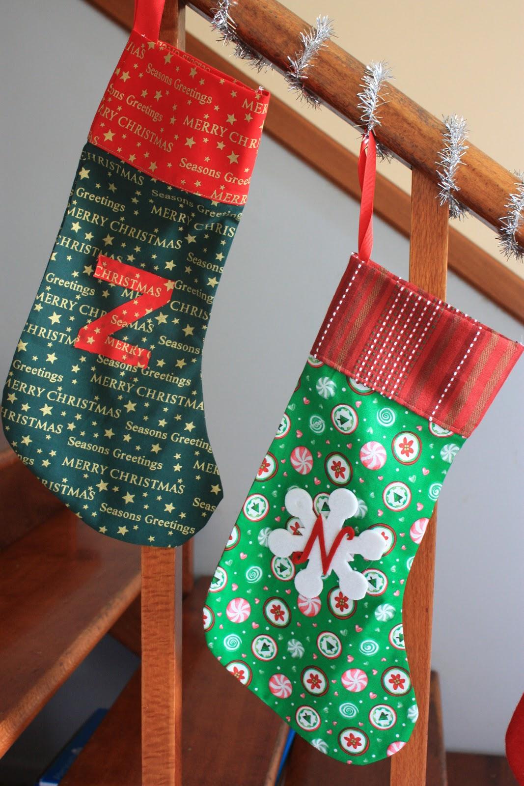 Procrastinations of a crafty mum: DIY Christmas stockings