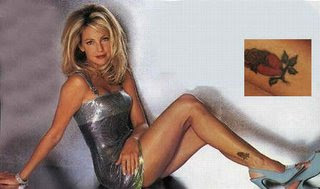 Heather Locklear Tattoos