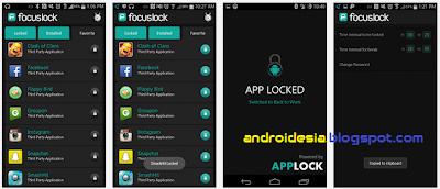 Focus Lock App screenshot