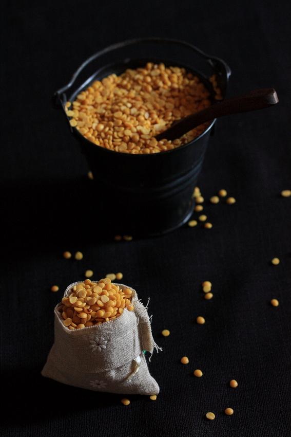 basics - sambar powder and brinjal, okra sambar