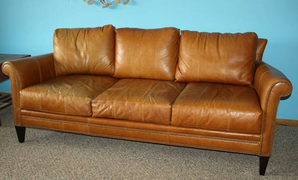 Ferguson Copeland Leather Sofa