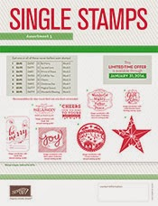 HOLIDAY SINGLE STAMPS