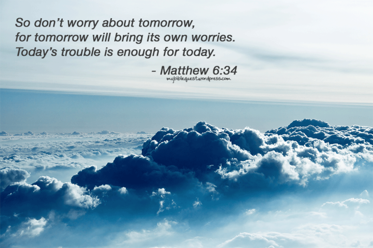 Matthew 6:34 | Background Bible