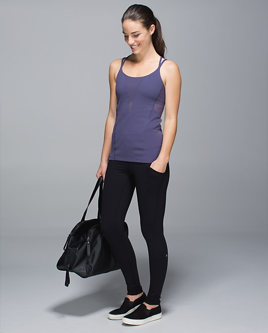 lululemon exquisite tank purple