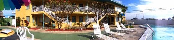 Unterkunft in Clearwater Beach - Traveler Motel Waterfront Resort