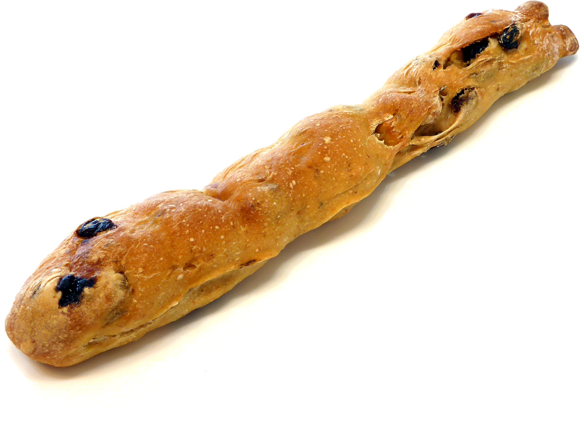 オーガニック小麦のヘーゼルナッツフルート(Hazelnut Flûte)   Le Pain Quotidien(ル・パン・コティディアン)