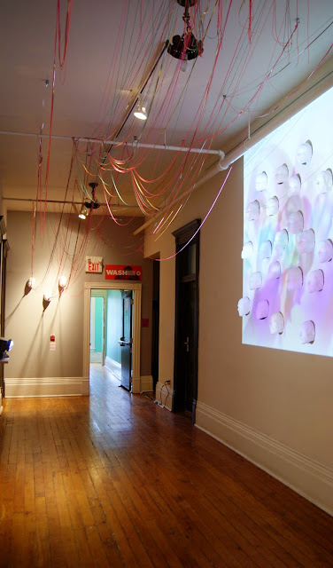 Come Up To My Room 2015, Gladstone Hotel in Toronto, CUTMR, culture, event, installations, art, artmatters, design, interior, Ontario, Canada, artists, TODO, IDS, The Purple Scarf, Melanie.Ps, X, Annie Tung, video, installation