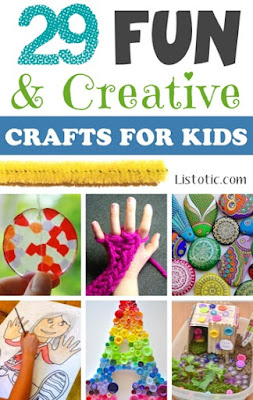 29 Fun & Creative Crafts For Kids