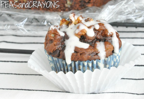 Chocolate Chocolate Chip Pumpkin Zucchini... Brownie Bread!