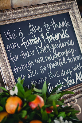Thank You Sign For Wedding Gift Table : ... thank you to your guests, you could place it on your gift table so