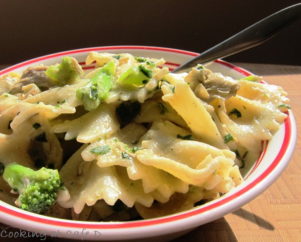 Chicken Broccoli Pasta recipe