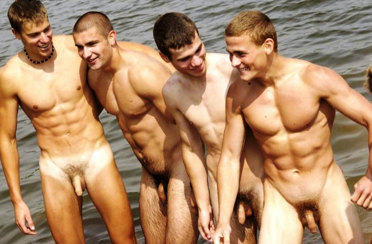 Men in sex speedos