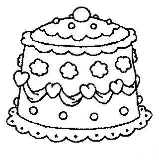 Fun coloring pages wedding coloring pages wedding cakes - Coloriage de gateau ...