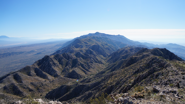 Ascenso Villicum, sierra, trekking san juan