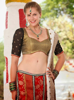 Actress Rachel Vees  Pictures in Lehenga Choli On Potugadu Sets  5.jpg