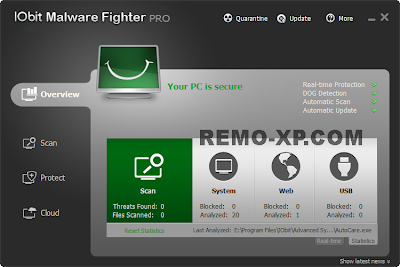 IObit Malware Fighter PRO 1.7.0.0 Full Serial
