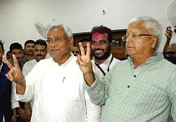 Bihar Grand Alliance victory