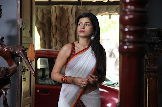 Shraddha Das saree Picture stills in Nankam Pirai 3D film