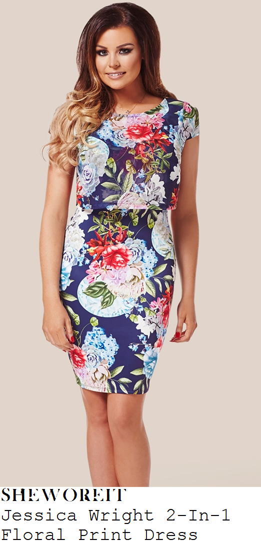 jessica-wright-navy-blue-floral-print-2-in-1-dress-this-morning