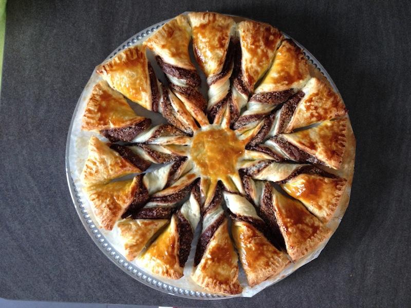 Les astuces de f e paillette tarte soleil nutella ou - Coup de soleil que faire pour ne pas peler ...