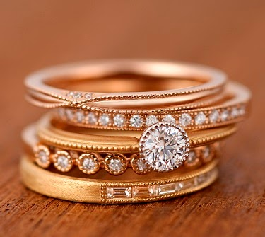ブライダル ブライダル 指輪 フェア : 細身でアンティーク調の ...