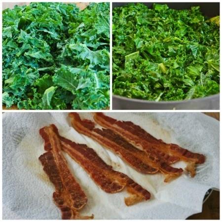 Kalyn's Kitchen®: Kale, Bacon, and Cheese Breakfast Casserole