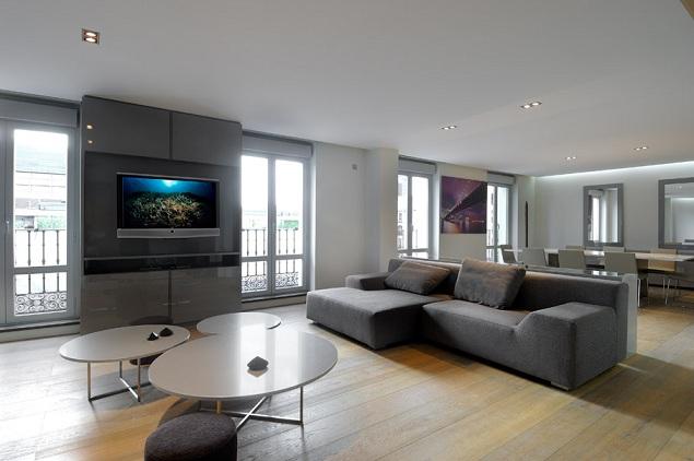 Casas minimalistas y modernas apartamentos minimalistas for Apartamentos modernos minimalistas