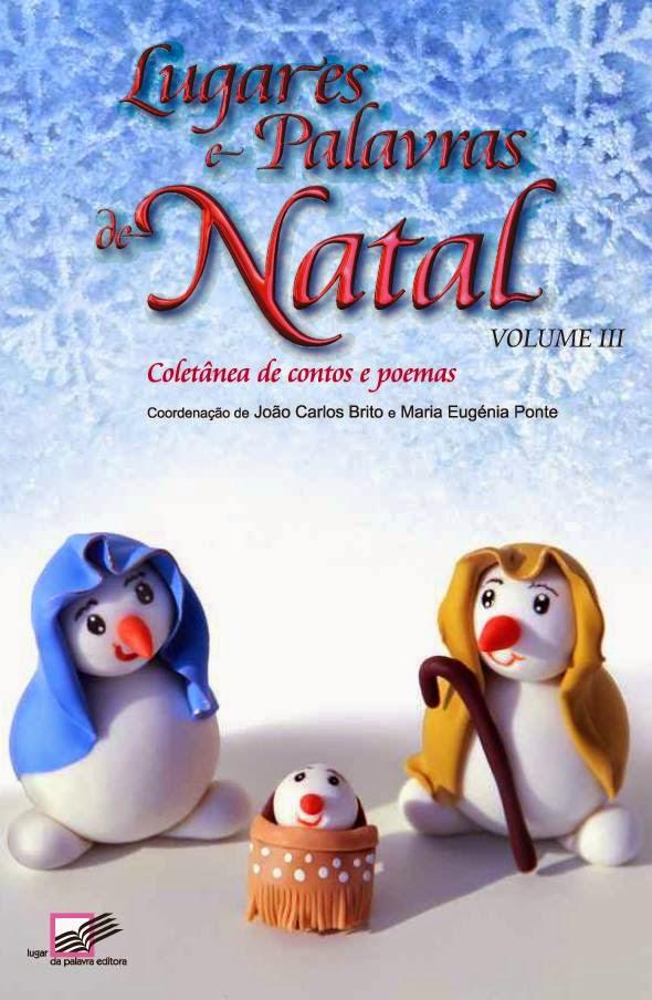 """Co-autora na coletânea """" Lugares e palavras de Natal- 2014"""