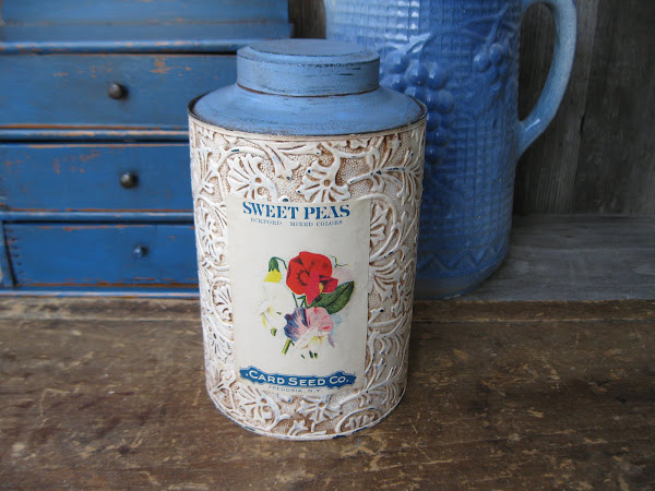Embossed Seed Tin