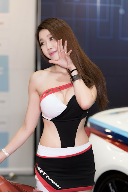 5 Yoo Ri Ahn - Seoul Auto Salon - very cute asian girl-girlcute4u.blogspot.com
