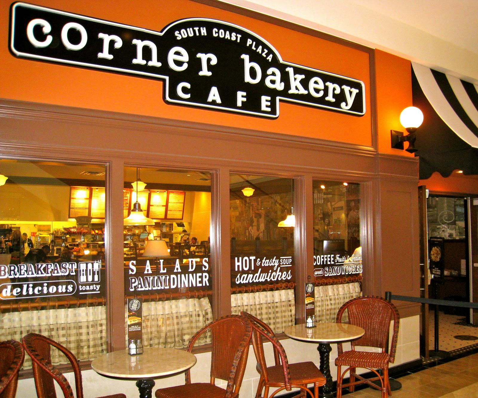 Corner Bakery Cafe South Coast Plaza