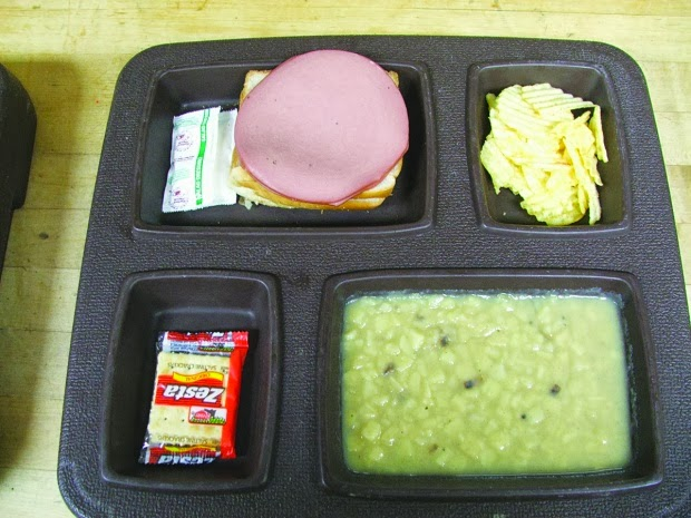 Prison Food on bologna lunch meat