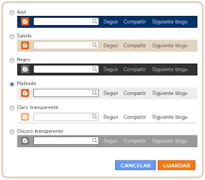 Aprenda usted cómo quitar la barra de su blog (NavBar)