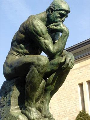 Dura poco el pensamiento El-pensador-auguste-rodin