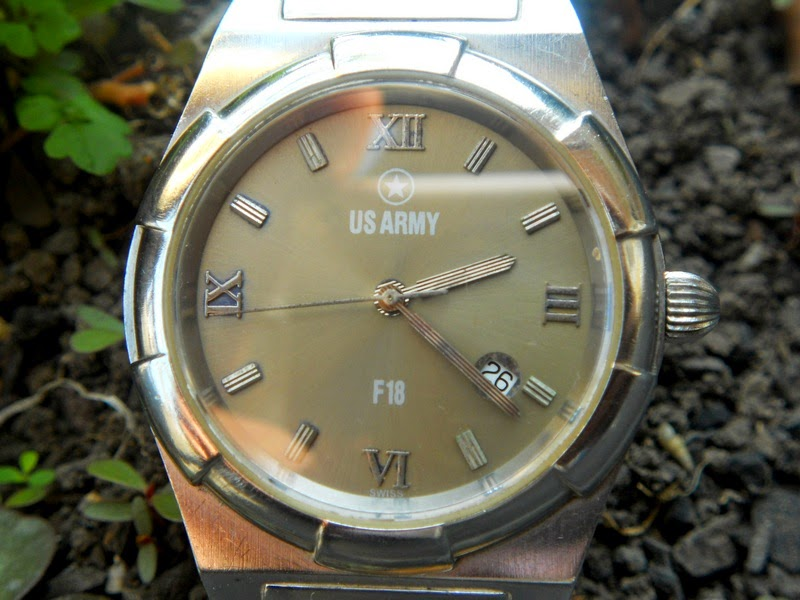 SOLD US ARMY F18-ETA QUARTZ
