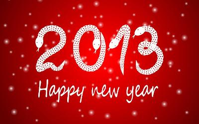 Happy New Year 2013 Wallpaper